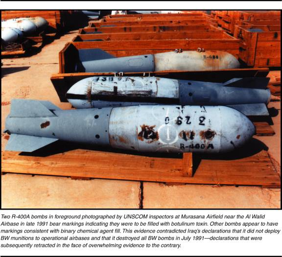 Photograph of two R-400A bombs